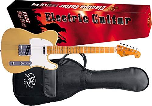 SX STL50+ E-Gitarre Butterscotch Blond