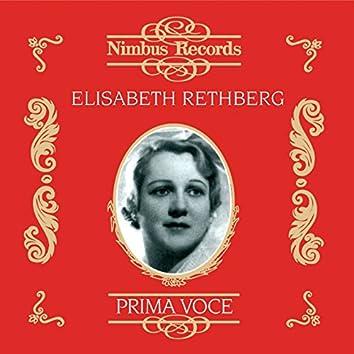 Elisabeth Rethberg (Recorded 1924 - 1930)