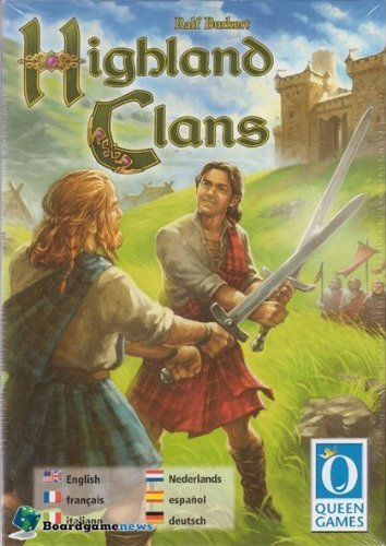 Highland Clans Board Game