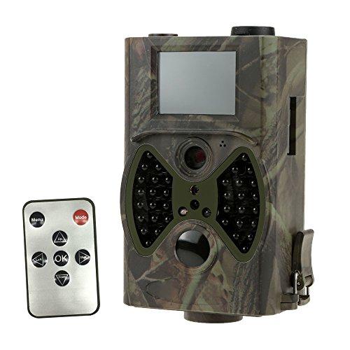 lixada Wildkamera, Überwachung Pfadfinder Infrarot Digital Trail Kamera 940nm IR LED hc300a