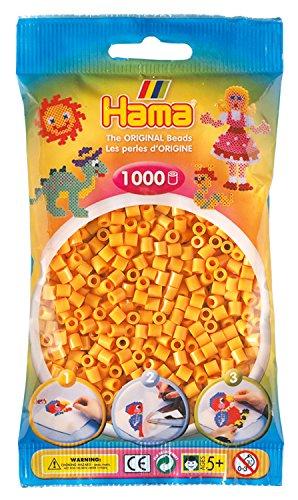 Hama 207-60 - Perlen im Beutel, 1000 Stück, Teddyfarbe