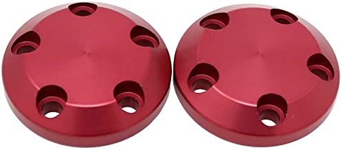 710-0904 Carbon S5 Frame Slider Replacement End Caps - Red - Two Caps Included - MADE IN THE USA