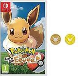 Pokémon: Let's Go, Eevee! + Grips para Joy-Con