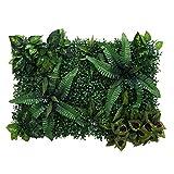 WOVELOT Gazon Artificiel - DIY Pelouse Miniature, Ornement Jardin, Vert A