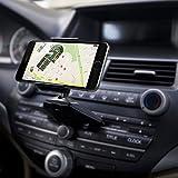 QGECEN Support universel pour téléphone portables à fixer dans l'emplacement pour CD dans la...