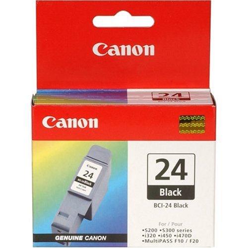 Canon BCI-24 Black - Cartucho de tinta negra