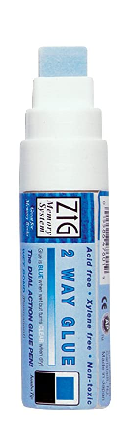 EK Success Zig Carded Jumbo Tip 2-Way Glue (MSB30C)