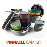 GSI Outdoors - Pinnacle Camper, Nesting Cook Set, Superior Backcountry Cookware Since 1985