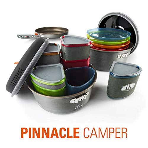 GSI Outdoors - Pinnacle Camper Cooking Set for Camping and...