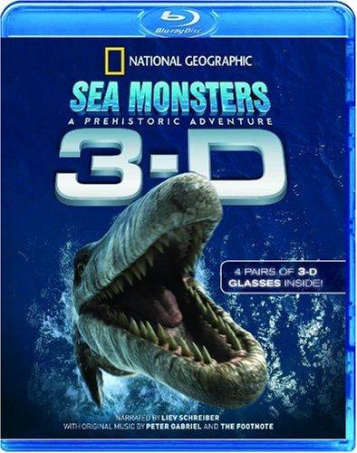 Sea Monsters: A Prehistoric Adventure 3D (National Geographic) [Blu-ray] [2009] [Edizione: Regno Unito]
