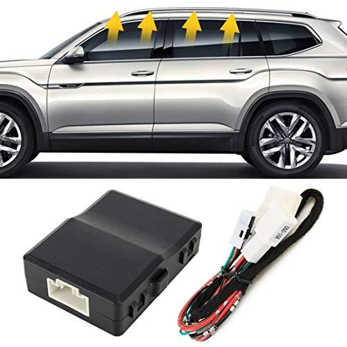 XUJINQI Auto elektrische raamheffer auto multifunctioneel rolgordijn rollers bovenaan nauwkeuriger raam close systeem voor Mercedes-Benz GLC, C-klasse