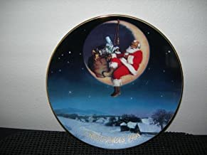 Greetings From Santa - Avon Collectible Plate