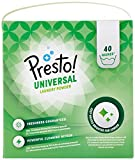 Amazon-Marke: Presto! Universal Vollwaschmittel Pulver 120 Waschgänge (3 x 40 Waschladungen)
