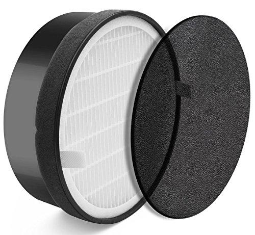 Kaleas Filter-Set (63116) - Silber-Nano-Filter + HEPA-Filter H13 - Ersatzfilter für Kaleas APF-15 Air Purifier Luftreiniger (63115)