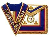 Masonic Freimaurer-Freimaurer-Kragen und Schürze