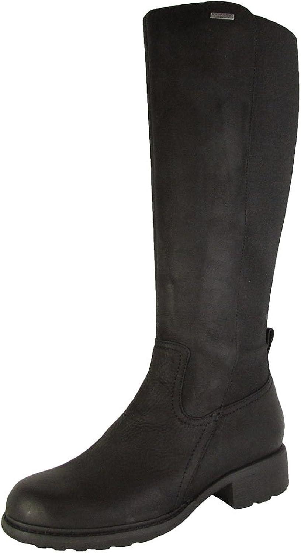 Rockport Women's First Street Waterproof Tall Riding Boot Black