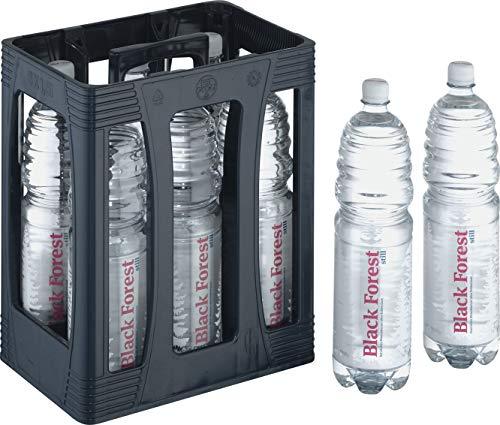 2 x 6 x1,5 Liter Black Forest Still Originalkiste inklusive 6 Euro Pfand MEHRWEG