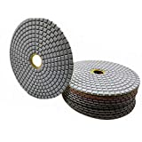 Almohadillas de pulido de diamante mojado y seco Pulidora Disco de rueda lijado almohadillas de pulido para granito piedra hormigón mármol piso