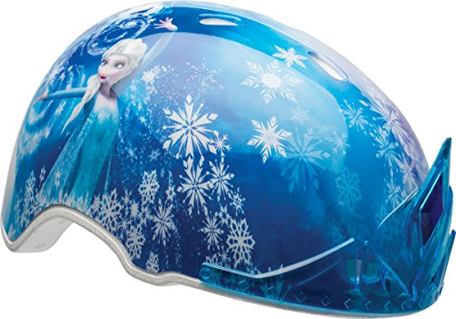 BELL Kinder Frozen Child MS 3D ELSA Tiara Helmet, Multi-Coloured, 51-54 cm
