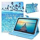 DETUOSI Nextbook Ares 10A Case,PU Leather Protective Cover Case for Nextbook Ares 10A 10.1' (NX16A10132S) Android Tablet