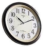 シチズン 夜間自動点灯機能付電波掛時計:ピュアライト 1個 4MY776AZ06