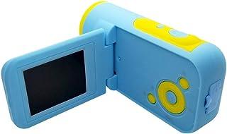 Nobrannd Niños cámara Digital Niño 5MP Mini cámara de vídeo Digital con 2 Pulgadas de Pantalla de visualización y Flash LED Las Muchachas de los Regalos creativos (Color : Azul Size : Free Size)
