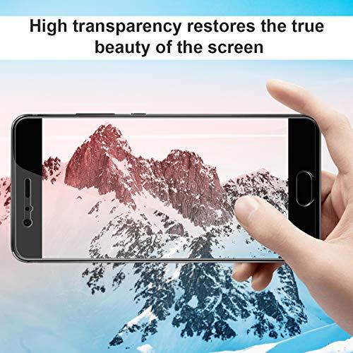 CRXOOX 3 Stück Schutzfolie für Huawei P10 Panzerglas Ultra-Clear Gehärtetem Glas Anti-Kratzer Blasenfrei Einfache Installation Panzerglasfolie Displayschutzfolie Folie für Huawei P10 - 4