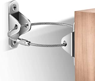 6Pack-Furniture Wall Anchor, Metal Furniture Anti-Tip Device, Used to Protect The Safety of Children and Pets, Furniture F...