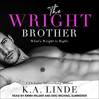 The Wright Brother     Wright Series, Book 1              De :                                                                                                                                 K. A. Linde                               Lu par :                                                                                                                                 Eric Michael Summerer,                                                                                        Emma Wilder                      Durée : 8 h et 43 min     Pas de notations     Global 0,0