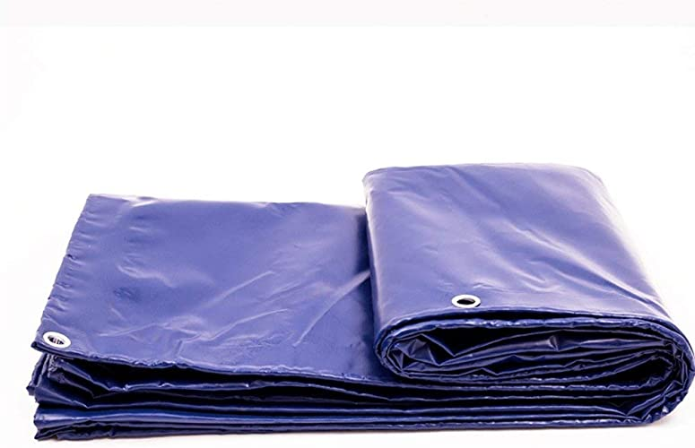AI LI WEI Toile imperméable en polyéthylène résistant à la poussière et à l'usure, épaisseur 0.48mm, 500g   m2, 14 Options de Format (Couleur  2x3m) Bache (Couleur   5x8m)