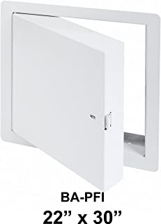 insulated fire rated access doors
