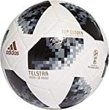 adidas FIFA World Cup Glider Ball White/Black/Silver Metallic, 5