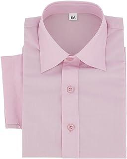 c6cca8191ee83 Boutique-Magique Chemise Enfant Manches Courtes : Rose, Rouge, Noir, Grise,