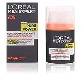 L'Oréal Paris Men Expert Pure Power, Crema hidratante Anti-Imperfecciones para Hombre, 50 ml