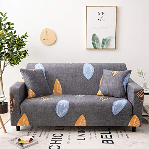 Protector de Muebles-Pieles de sofá Funda elástica para Sala de Estar Funda de sofá de Esquina Funda elástica para sofá A26 1 Plaza