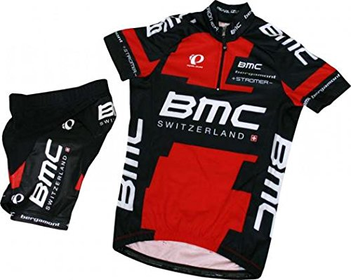BMC Kit Pearl Izumi Team Promotional Kids 2016, Color Negro - Negro, tamaño 152 cm