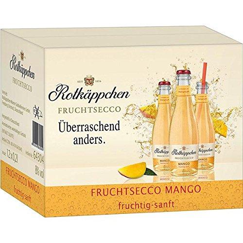 12 Flaschen Rotkäppchen Fruchtsecco Mango a 200ml Piccolo