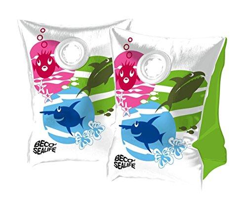 BECO Kinder Aqua Fun Schwimmbad schwimmen lernen Sealife Schwimmflügel (2–6Jahre) Größe 0