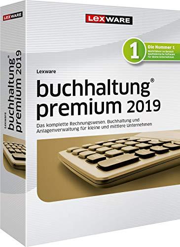 Lexware buchhaltung 2019|premium-Version Minibox (Jahreslizenz)|Einfache Buchhaltungs-Software für Freiberufler, Handwerker, kleine und mittlere Unternehmen|Kompatibel mit Windows 7 oder aktueller