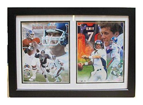 12X18 Double Frame - John Elway Denver Broncos