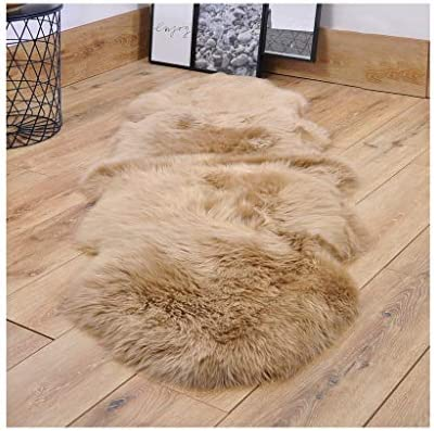 YYTLDT Faux Fur Rug Soft Carpet Synthetic Sheepskin Sofa Chair Cushion Floor Mat for Bedroom product image