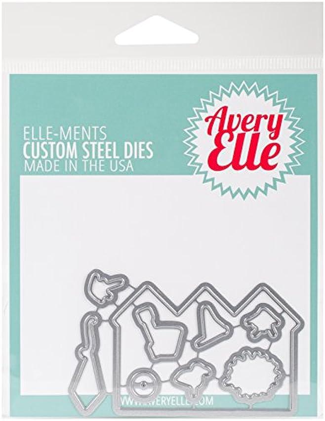 Avery Elle D-17-18 Elle-Ments Dies-Beside The Sea
