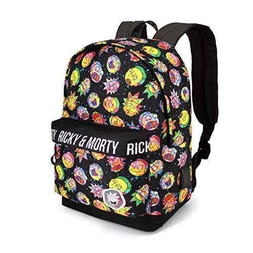 Karactermania Rick y Morty Psycho: Mochila HS  Multicolor  Un Tamaño