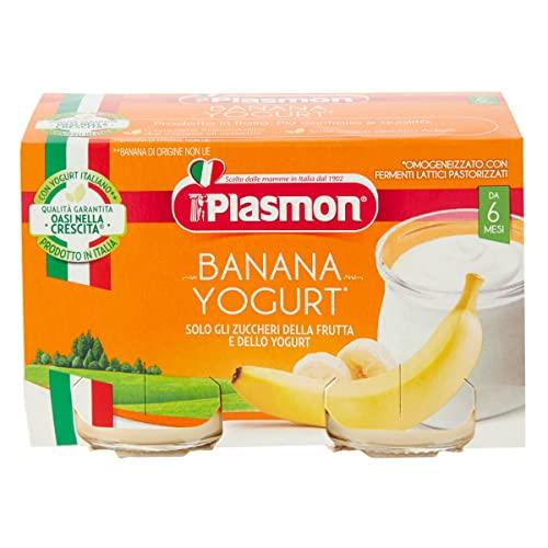 Plasmon Merenda Banana e Yogurt, 24 x 80 g