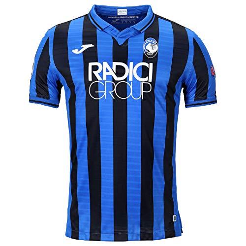 Atalanta B.C., Erste Jersey 2019/2020 Champions League, Mann, Schwarz / blau, 3XS