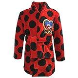 Miraculous Ladybug Niñas Bata Albornoz Rojo 104