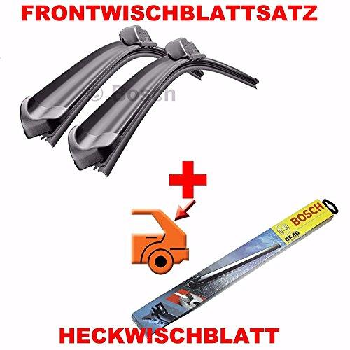 Bosch AR991S und H341 Vorne und Hinten Komplettsatz Scheibenwischer Wischblätter