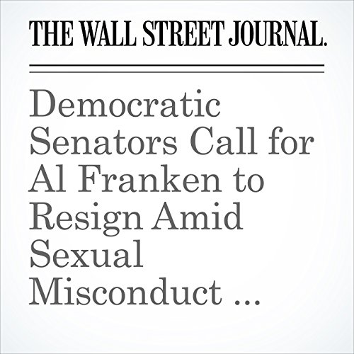 Democratic Senators Call for Al Franken to Resign Amid Sexual Misconduct Allegations copertina