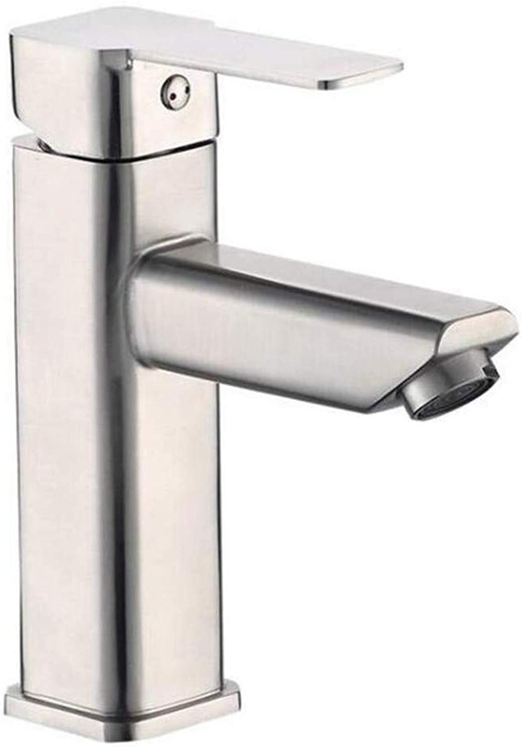 Kitchen Bath Basin Sink Bathroom Taps Taps Mixer Faucet Sink 304 Stainless Steel Hot and Cold Basin Faucet Ctzl0528