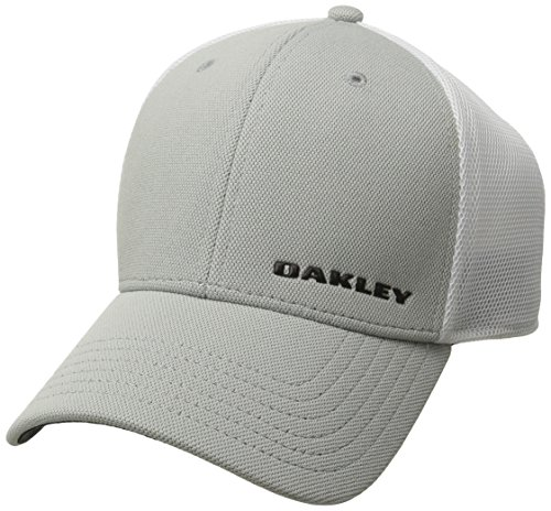 Oakley Bark Trucker 4.0 Casquette Homme, Bleu, FR : S/M (Taille Fabricant : S/M)